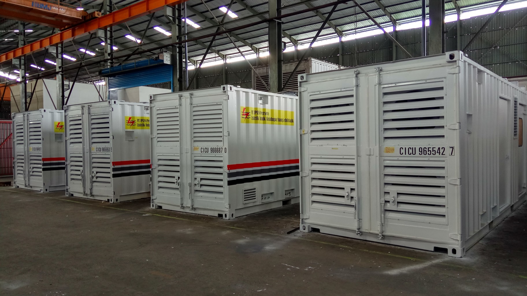 Container Telkominfra Project